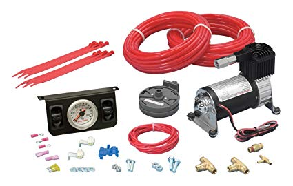 Firestone Level Command Standard Duty Air Compressor System - Single Gauge - Northwest Diesel