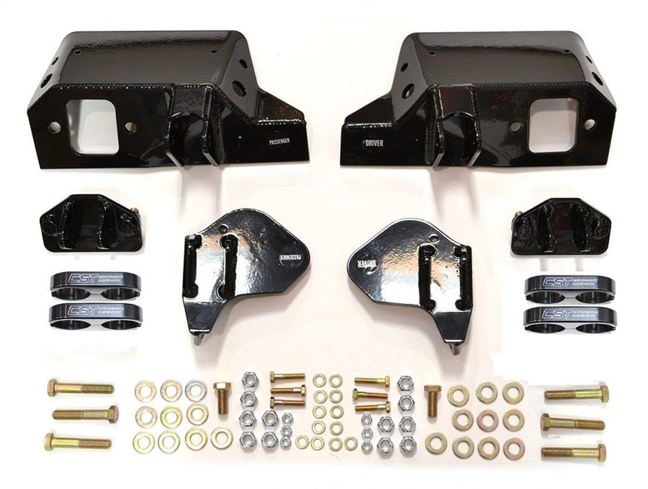CST Dual Shock Brackets With Black Clamps - Northwest Diesel