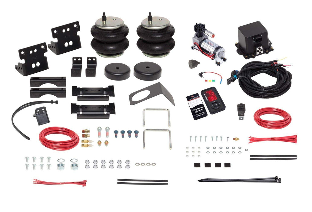 Firestone Ride-Rite Wireless All-In-One Helper Spring Kit - Northwest Diesel