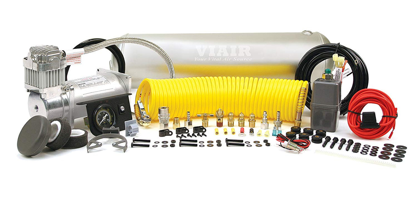 Heavy Duty Onboard Air System (12V 150 PSI Compressor 2.5 Gal. Tank)