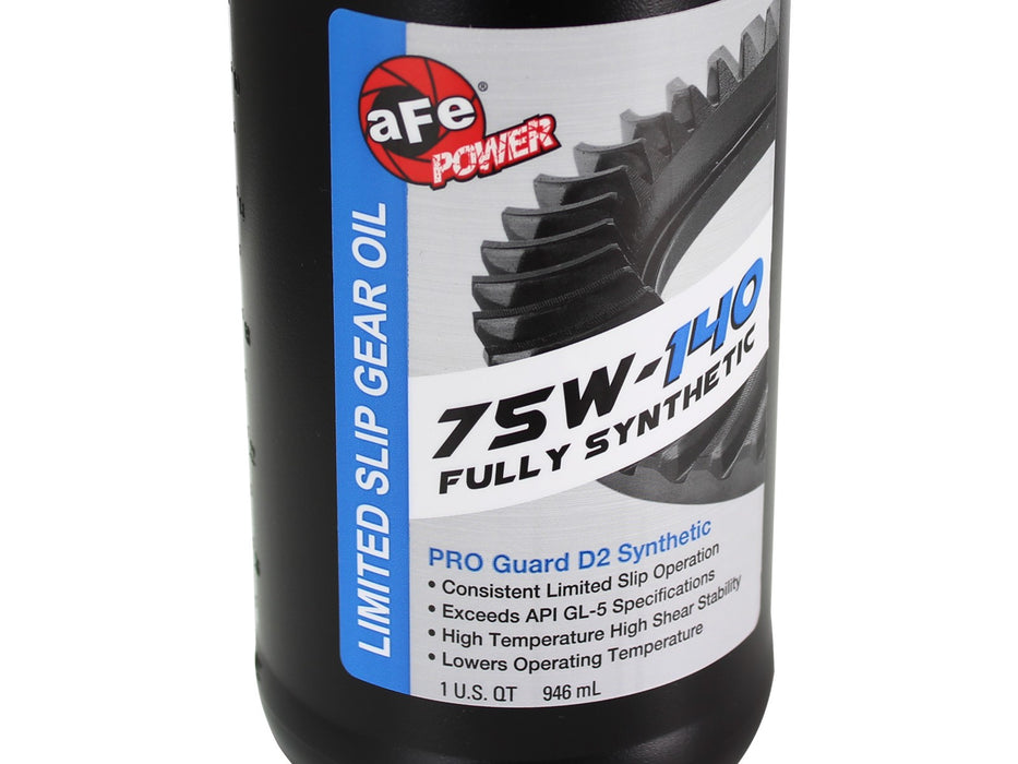 AFE Power Chemicals Pro Guard D2 Synthetic Gear Oil, 1 Quart; 75W-140 - 12 pack - Northwest Diesel