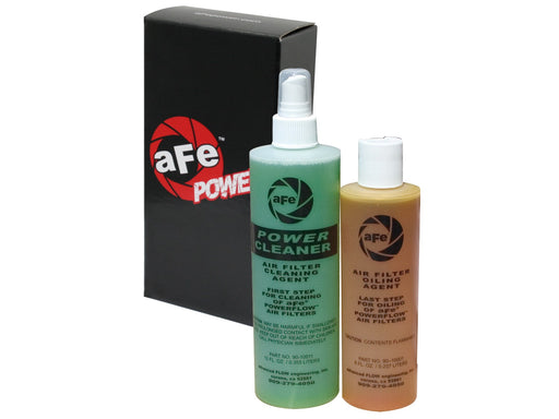 AFE Power Air Filter Restore Kit: 8 oz Oil & 12 oz Power Cleaner (Squeeze Oil Bottle) - Northwest Diesel