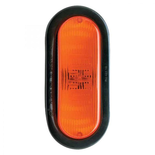 ECCO AMBER OVAL STROBE LIGHT