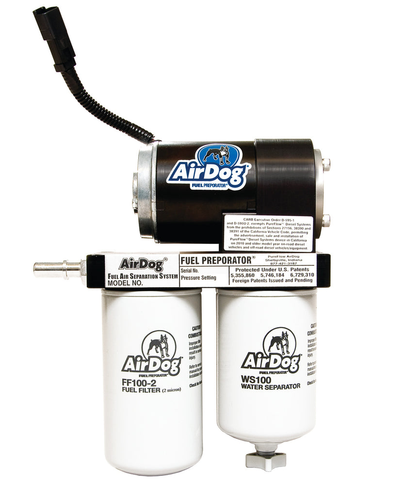 AirDog Fuel Air Separation System FP-100/FP-150 - Northwest Diesel