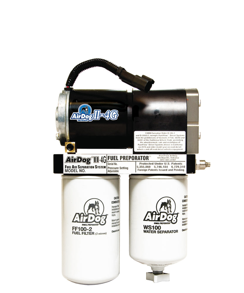AirDog II-4G Fuel Air Separation System DF-165-4G/DF-200-4G - Northwest Diesel