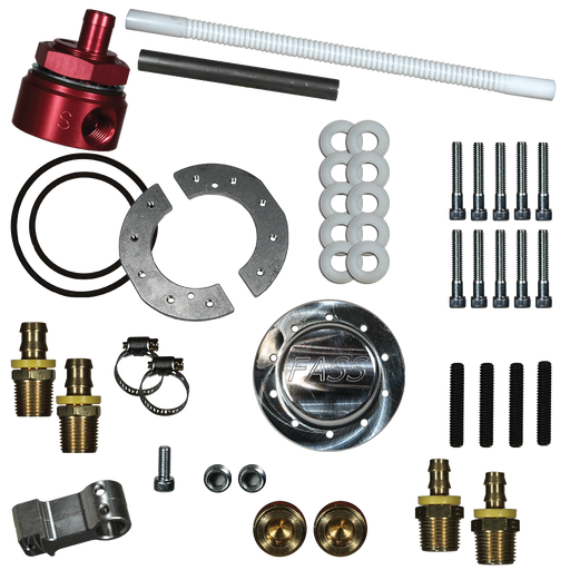 FASS Fuel Systems Diesel Fuel Sump Kit with Fass Bulkhead Suction Tube Kit - Northwest Diesel