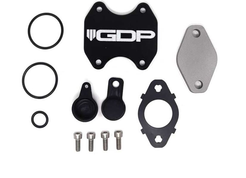 GDP EGR/Cooler Delete Kit | 13 - 18 6.7L Cummins Cab & Chassis