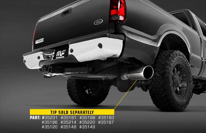 "Magnaflow 4"" Pro-Series Aluminized Cat-Back Exhaust System - Northwest Diesel"