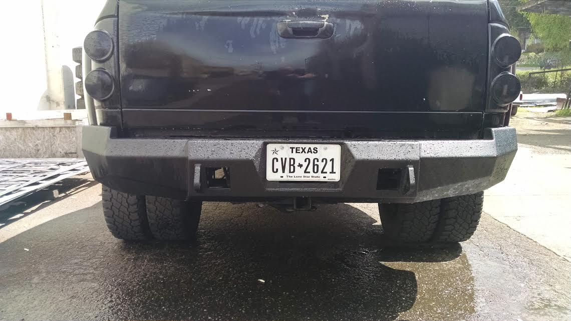 HNC Rear Bumper | 10-18 Dodge 2500/3500 - Northwest Diesel
