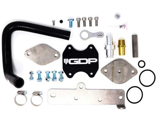 GDP EGR DELETE 2013-19 DODGE CUMMINS PICKUP COOLER UPGRADE KIT W/ BRACKET AND GASKETS