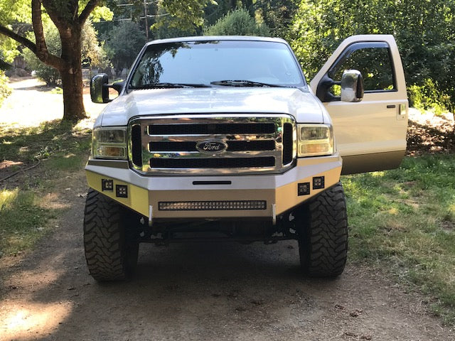 HNC Beauty Front Bumper | 05-07 Ford Super Duty/Excursion - Northwest Diesel
