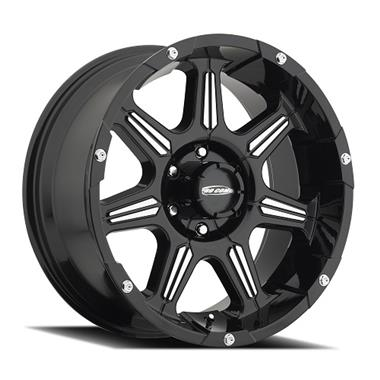 Pro Comp District Series 51 Black with Machined - Northwest Diesel