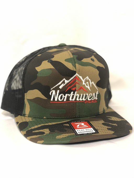 "NORTHWEST DIESEL ""CAMO"" SNAPBACK HAT (RICHARDSON)"
