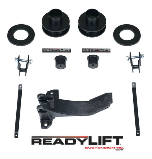"ReadyLIFT 2.5"" Front Leveling Kit With Track Bar Bracket - Northwest Diesel"