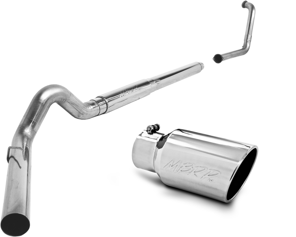 "MBRP 5"" XP Series Cat-Back Dual Exhaust Stack System - Northwest Diesel"