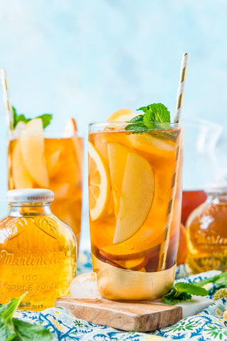 apple & cinnamon iced tea
