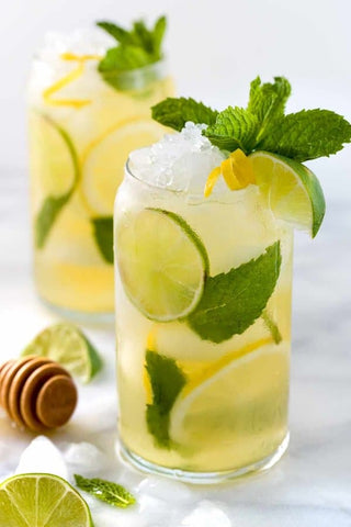 Honey & lime iced tea