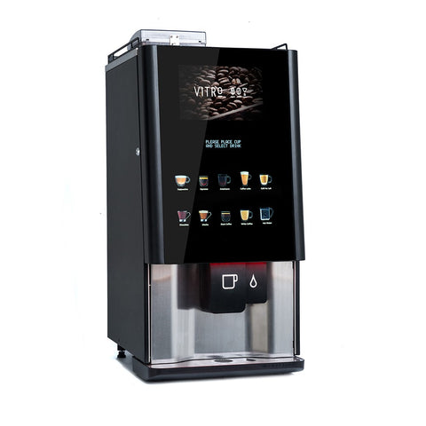Bean to cup commercial coffee machine