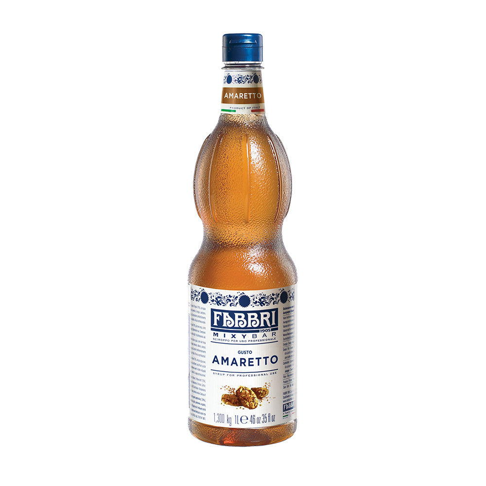Wholesale amaretto Fabbri coffee syrup 1L