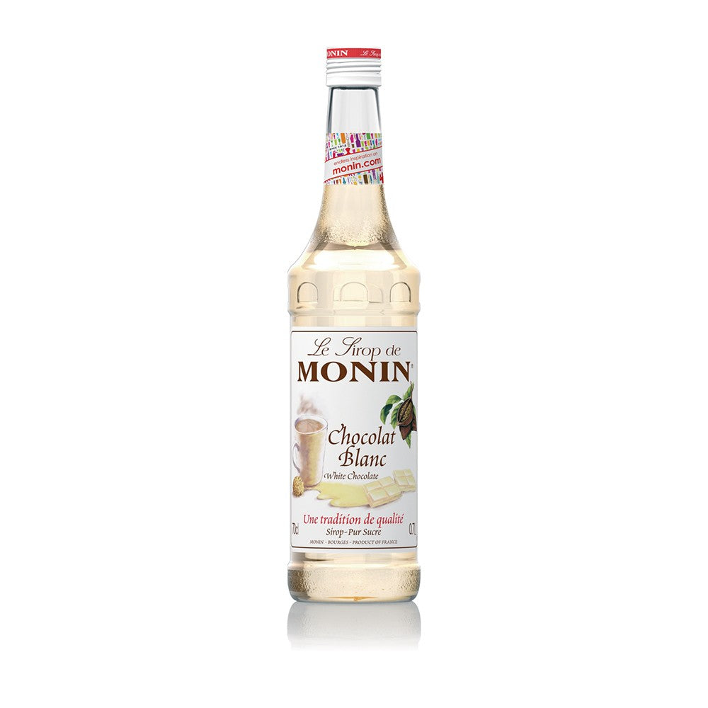 Wholesale MONIN syrup for coffee shops - white chocolate