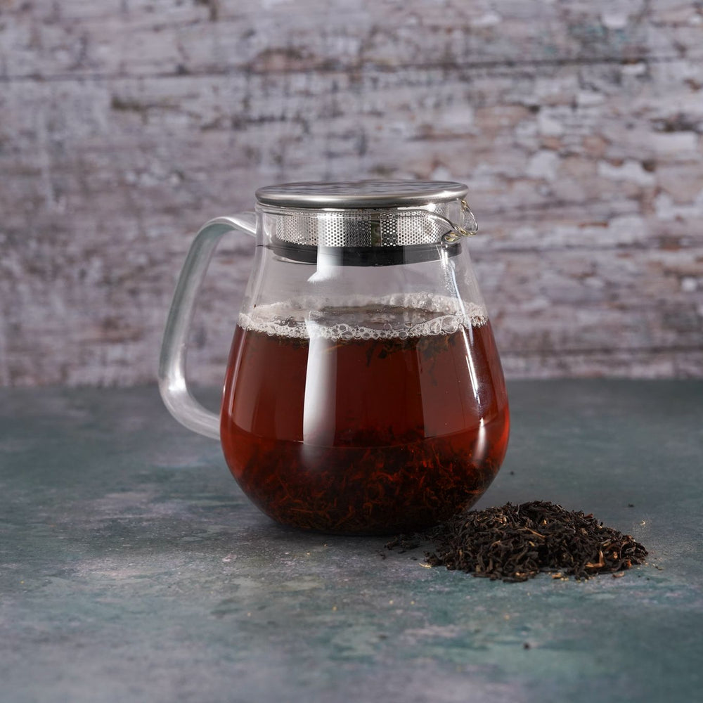 Brew Boffin Set - CHANGE LOOSE LEAF ENGLISH BREAKFAST 500G - with Kinto Tea Pot