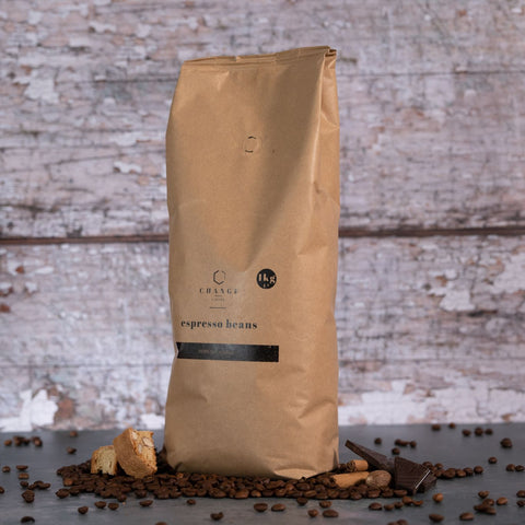 Change Coffee Beans - Brazilian & Indian Blend - 1kg