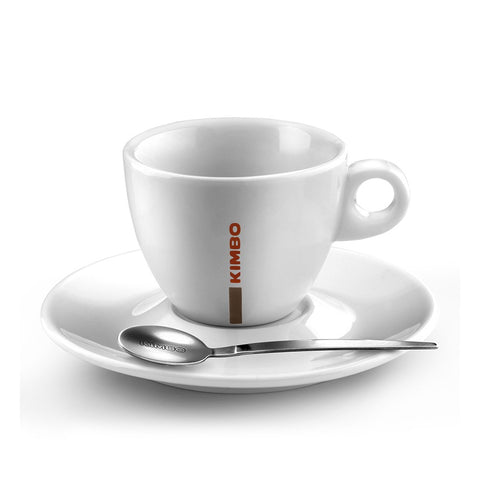 Kimbo Coffee Cappuccino Cups and Saucers