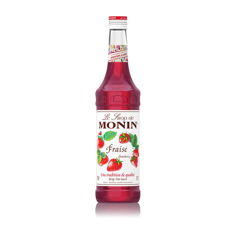 Wholesale MONIN syrup for coffee shops - strawberry