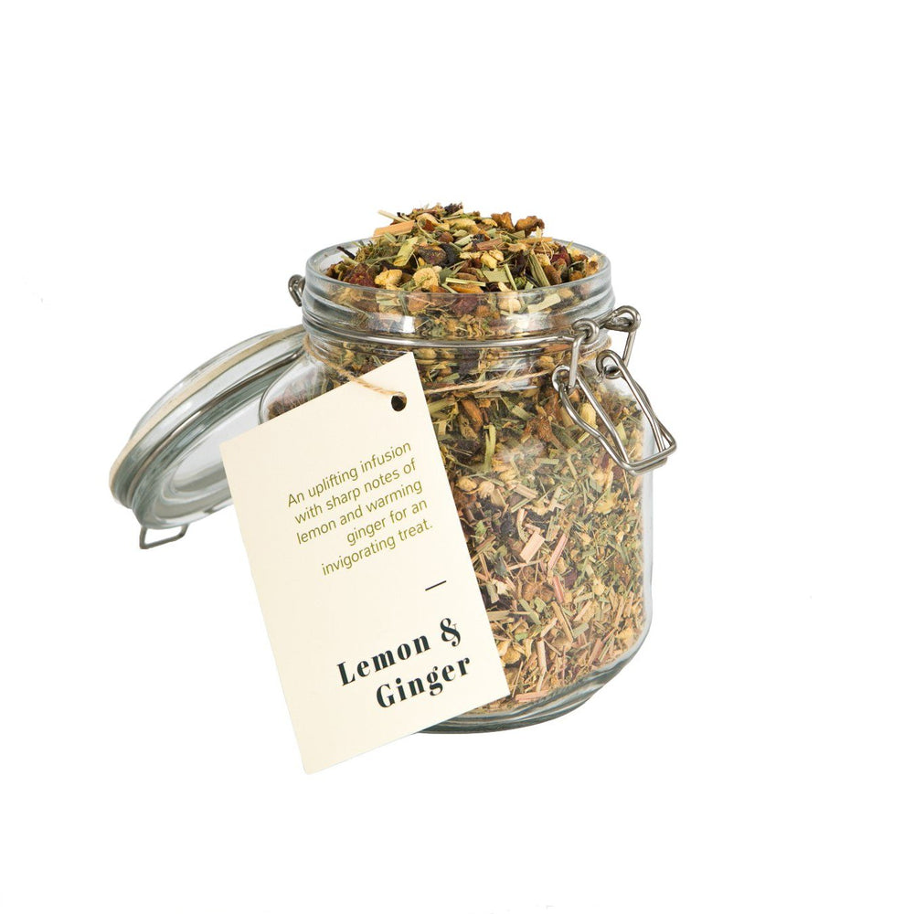 Wholesale loose leaf lemon and ginger tea