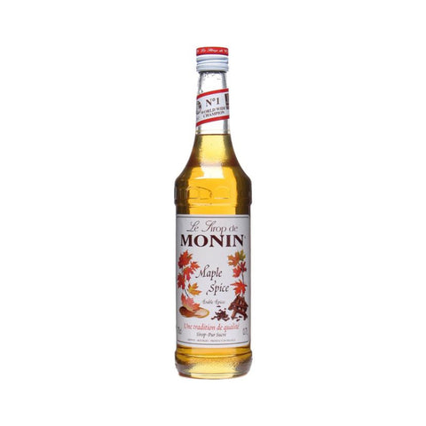 Maple Spice Monin Coffee Syrup 70cl