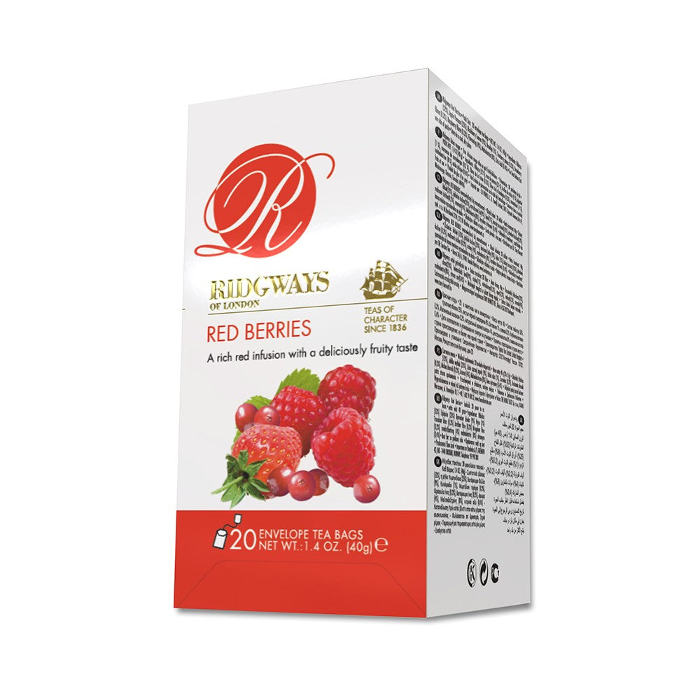 Ridgways red berries wholesale tea bags