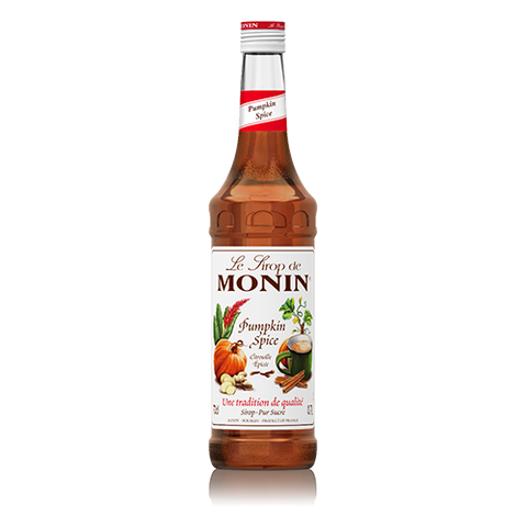 Pumpkin Spice Monin Coffee Syrup 70cl
