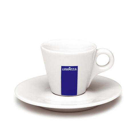 Lavazza Espresso Cups and Saucers - coffee shop supplies