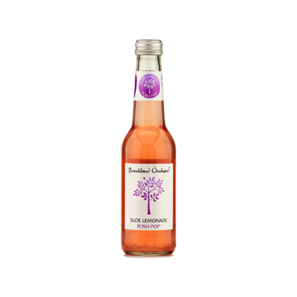Breckland Orchard Sloe and Rose Lemonade Posh Pop 12 x 275ml