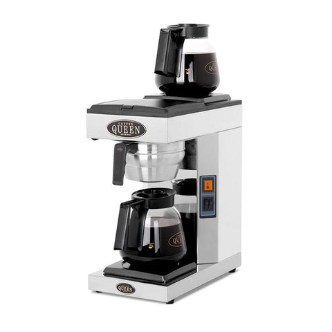 Pour and serve commercial coffee machine