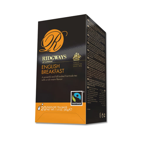 English Breakfast Wholesale Fairtrade Tea Bags
