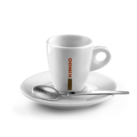 Kimbo Espresso Cups and Saucers