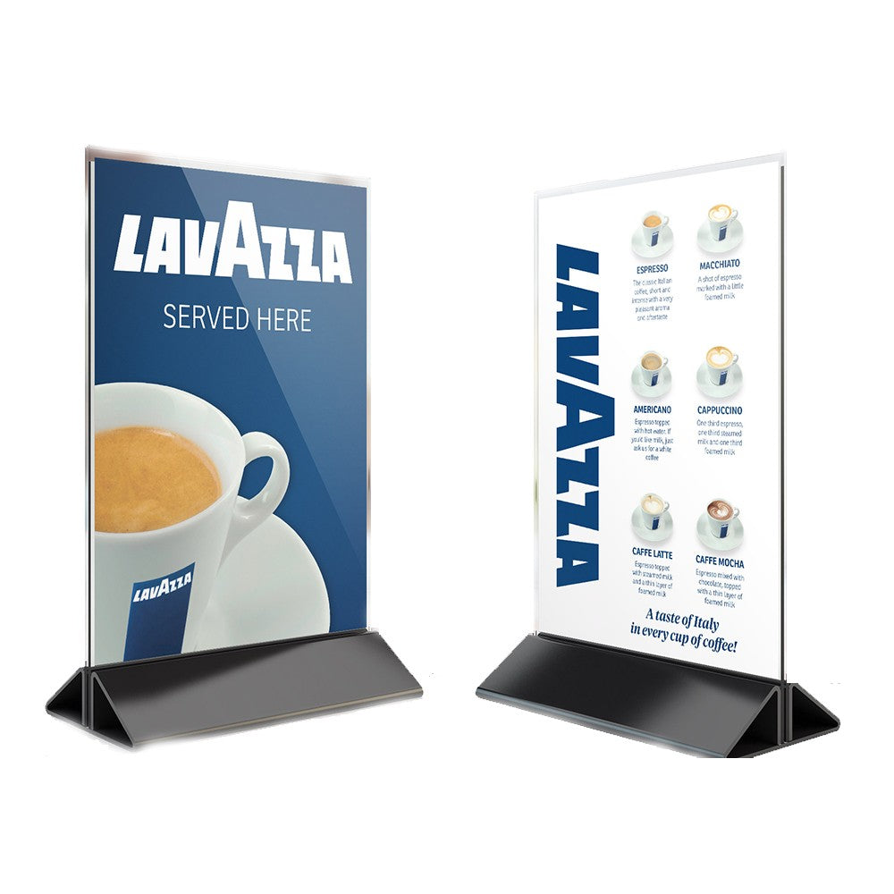 Lavazza Plastic Table Talkers