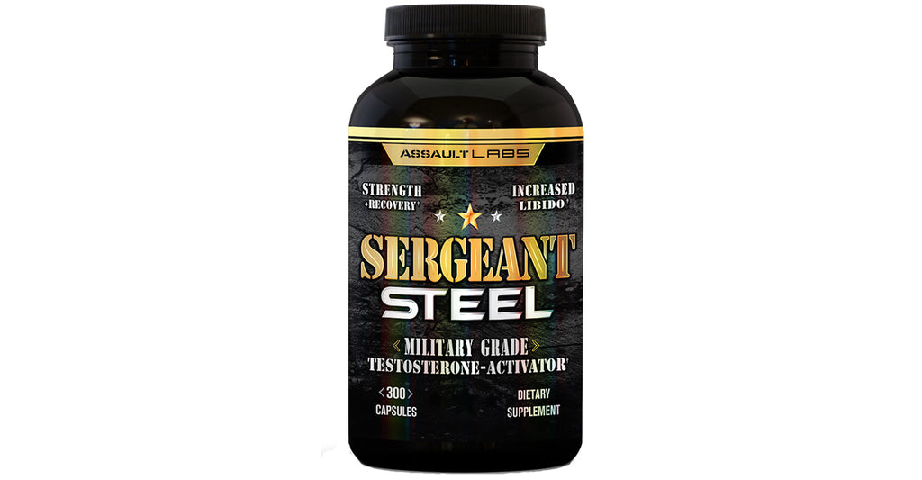 A Test Booster That WORKS?!  Sergeant Steel by Assault Labs