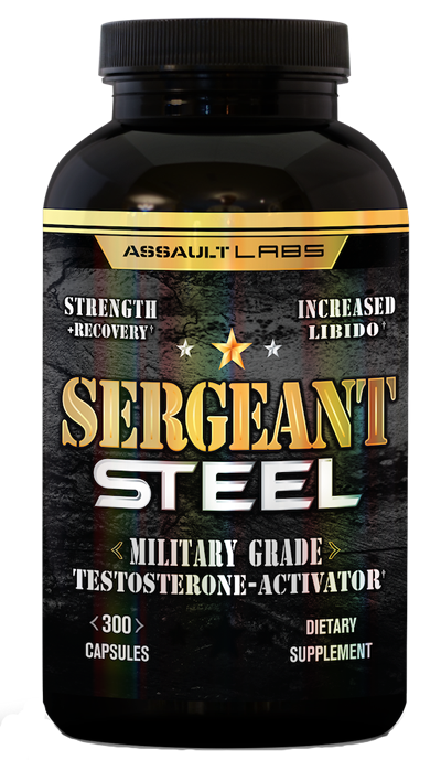 Sergeant steel, sergeant steal, seargent steel, sargent steel, sargant steel, assault labs, testosterone booster, best test booster, pump up test, pump up testosterone, boost test, boost testosterone
