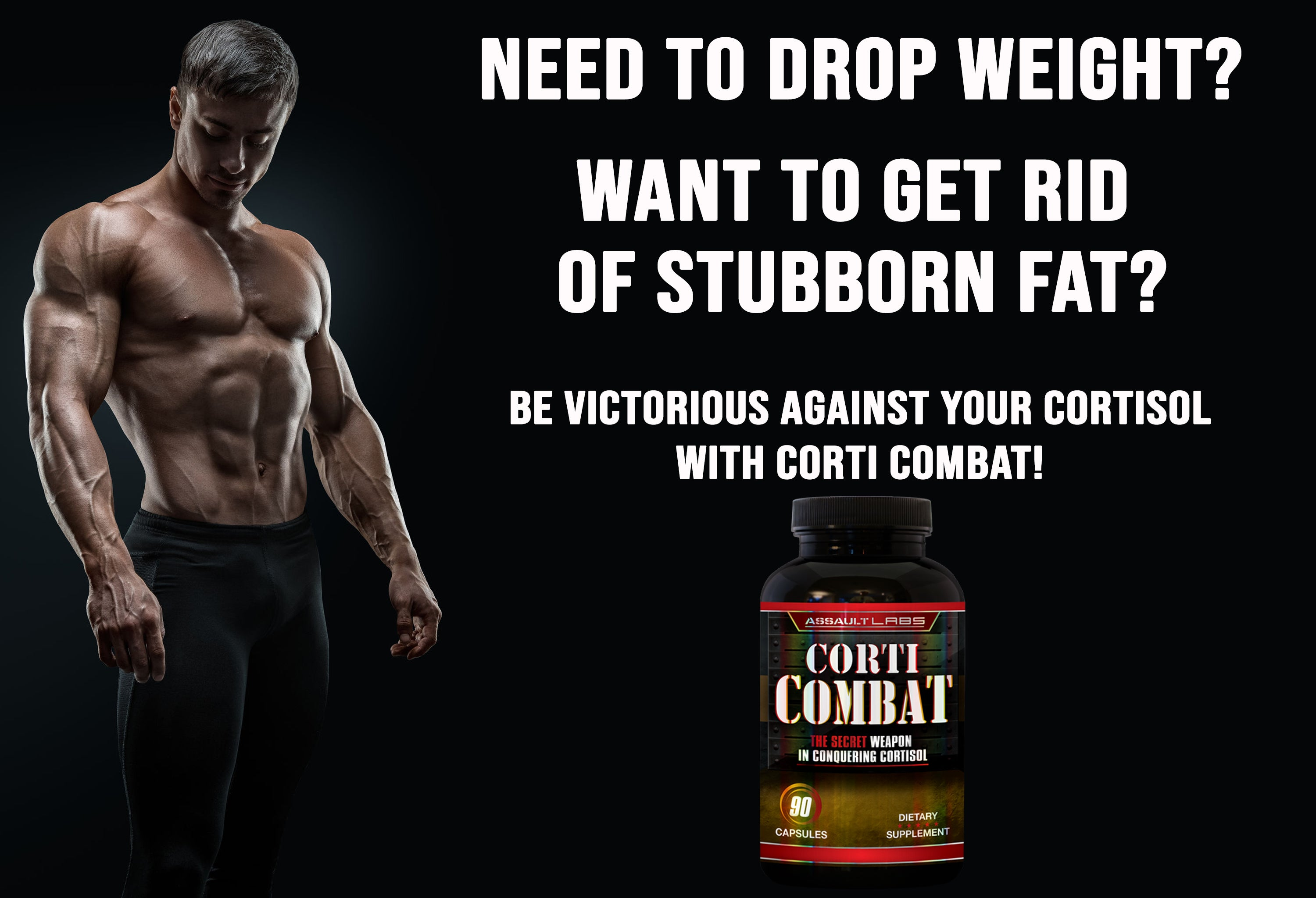 assault labs, corti combat, cortisol combat, fat burner, fat cutter, natural metabolic, natural fat burner, best fat burner for belly fat