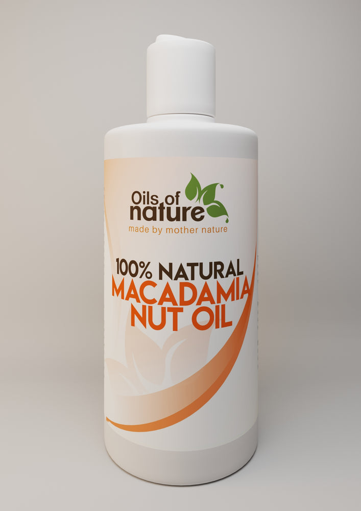 Oils of Nature Pure, Cold-Pressed Macadamia Nut Oil For Skin and Hair