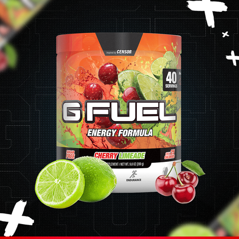 CHERRY LIMEADE TUB - GFUEL XGamer GamerGearShop