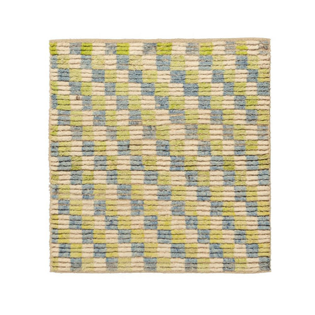 3x3 Beige Modern Turkish Area Rug