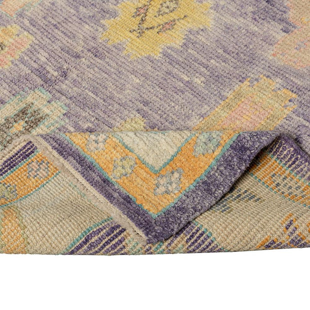 5x6 Purple Modern Oushak Area Rug