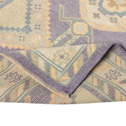 3x9 Purple Modern Oushak Runner Rug