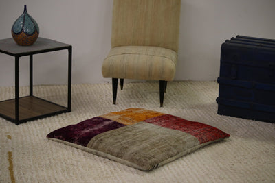 Modern Patchwork Floor Pillow
