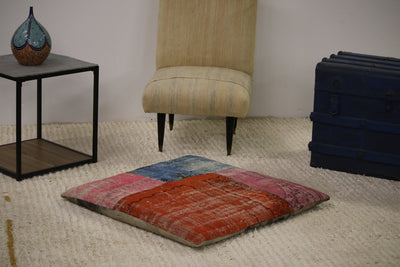 Luxury Patchwork Floor Pillow