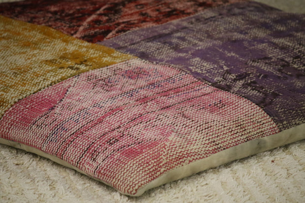Designer Patchwork Floor Pillow