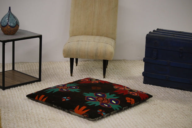 Modern Kilim Floor Pillow